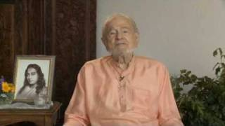 "Swami Kriyananda - ""What is your secret to being joyful?"""