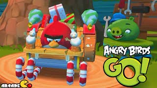Angry Birds Go! Santa's Sleigh Holiday Kart - Angry Birds Go! SubZero Xmas New Update!