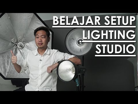 TUTORIAL STUDIO LIGHT SETUP | Bahasa Indonesia