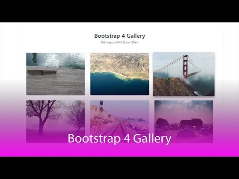How To Create Responsive LightBox Gallery With Bootstrap 4