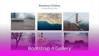 Wie erstellen Sie Responsive LightBox Galerie mit Bootstrap 4