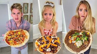 Making The World&#39s GROSSEST Pizza Then Eating It!!! - Challenge
