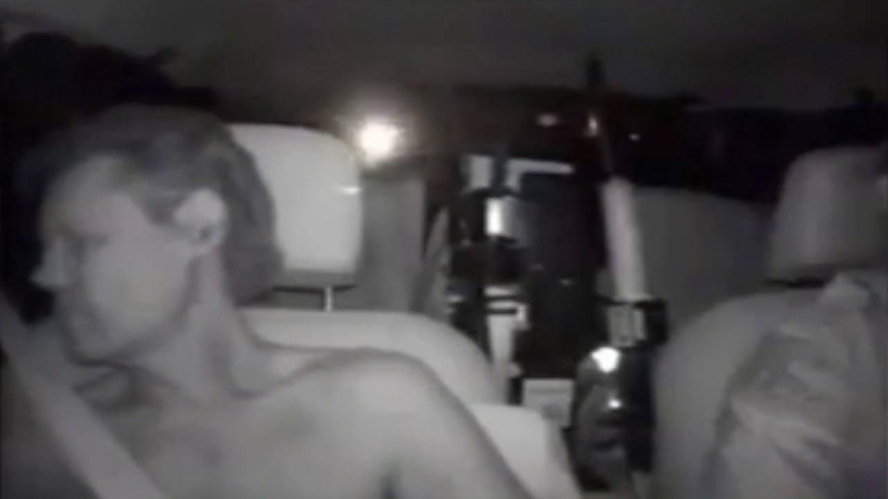 Amatuer big tits in car