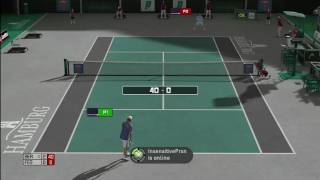 Top Spin 3 - Roger Federer vs. Tomas Berdych