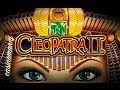 IGT -  Cleopatra 2 - Slot Machine Bonus + RETRIGGER!!