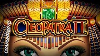 IGT -  Cleopatra 2 - Slot Machine Bonus + RETRIGGER!!