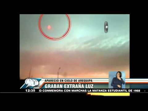 Arequipa: ¿Ovni apareció en cielo de la Ciudad Blanca?