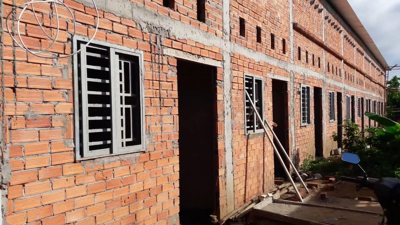 Nhà trọ mới xây, tranh thủ vào xem học hỏi cách người ta thiết kế xây dựng