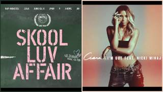 BTS (Bangtan Boys) vs Ciara Ft. Nicki Minaj - Boy In Luv (상남자) / I'm Out (MASHUP)