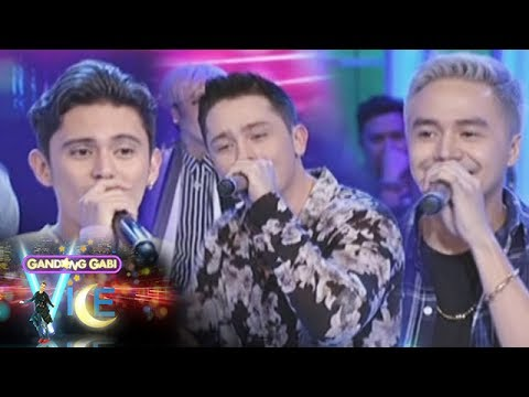 GGV: James Reid, Bret Jackson, and Sam Concepcion sing