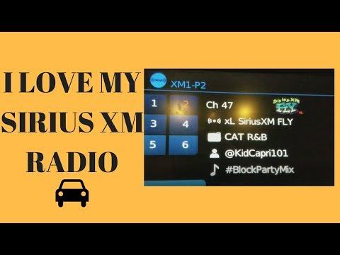 I love XM Radio In My Car VLOG EPISODE 19