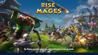 RISE OF MAGES Gameplay New Online Android Strategy Games 2019