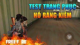 [Garena Free Fire] TEST Trang Phục Bộ Tộc Hổ Răng Kiếm | Sỹ Kẹo