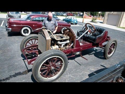 1912 National Model 40 Semi-Racing Roadster   Simeone Foundation Automotive  Museum