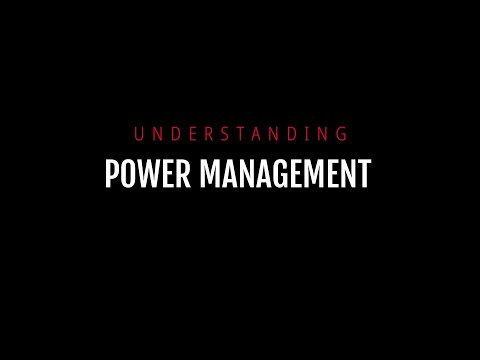 Understanding Power Management Settings