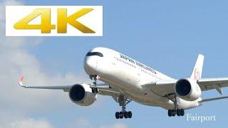 """福岡空港で撮影した飛行機動画となります。 Panasonic LUMIX DC-GH5での撮影です。 #飛行機 #飛行機動画 #福岡空港 [Setting] : Image quality """"4k 8bit 100M..."""