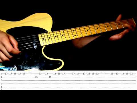 Guitar 1 string guitar tabs : Five Nights At Freddy's 1 & 2 [Guitar Tutorial with Tabs] - YouTube