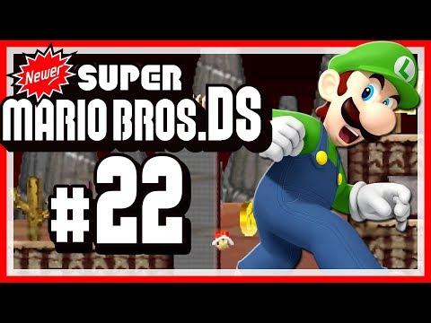 NEWER SUPER MARIO BROS. DS # 22 🍁 Vom Winde verweht! [HD60]