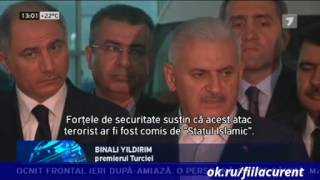 Atentat singeros la Istanbul