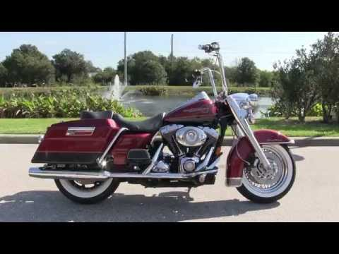 Used 2007 Harley Davidson FLHR Road King With Custom Ape Hangers
