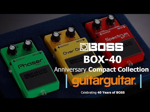 BOSS | BOX-40 Compact Collection | 40 years of BOSS