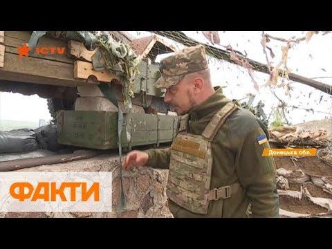 Бои в Донецкой