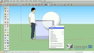 "SketchUp Tips and Tricks: Boolean Operations with ""Intersect with Model"""
