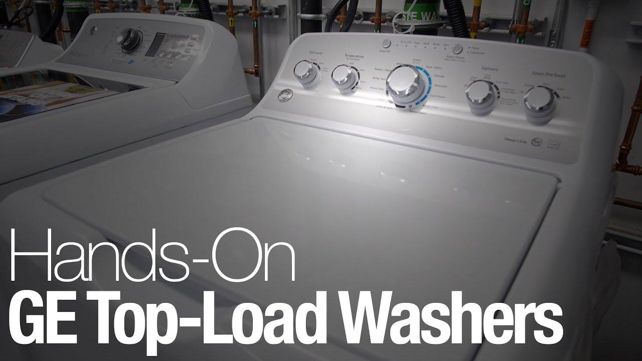 new ge washing machine