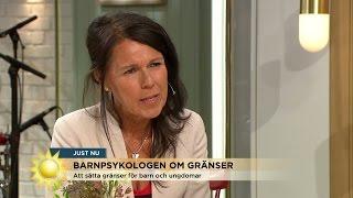 """""""Sätt gränser tillsammans med din tonåring"""" - Nyhetsmorgon (TV4)"""