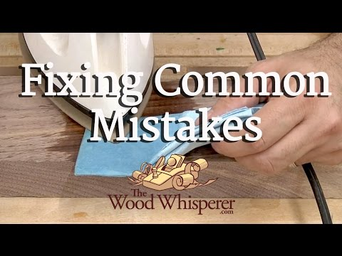 How to Fix Common Mistakes Made When Building Things Out of Wood