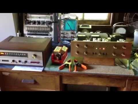 Fisher X-1000 Tube Amp & Tuner Repair By Urbanradio