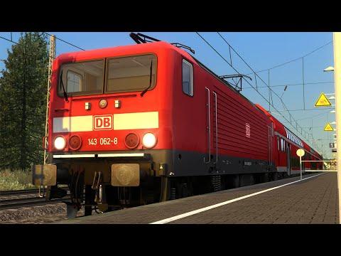 Train Simulator 2019: Inselbahn - DB BR 143 - An Evening Service |
