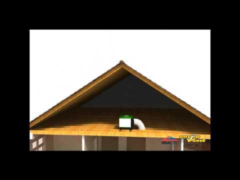 Envirovent PIV Positive Input Ventilation EEL Edmundson Electrical Aberystwyth
