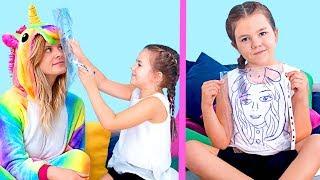 9 وصفات سهلة علشان تكون فنان / ابتكارات رسم إبداعية للأطفال