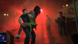 KEYLA GARCIA Y BALLET DE EXPLOSION LUCERO Y VALERIA - LA ISLA DEL PARAISO 11/02/2012