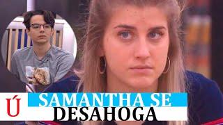 Samantha estalla contra Flavio:
