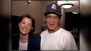 Shauna Lake and Ron Bird get David Letterman to wear a 2News hat