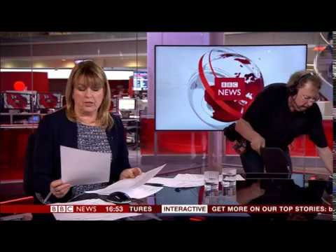 Maxine Mawhinney's last day on BBC News (from start to end)