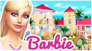 barbie life in the dreamhouse the sims 4 build