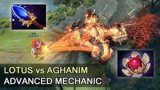 Lotus Orb vs Aghanim's Scepter — advanced mechanics Dota 2