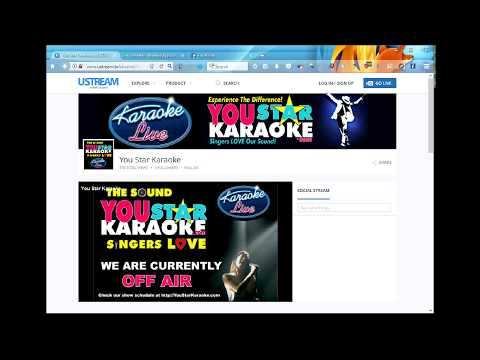 "You Star Karaoke ""Live"" Internet Video"