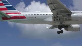 St Maarten Airport Landings with Jetblast