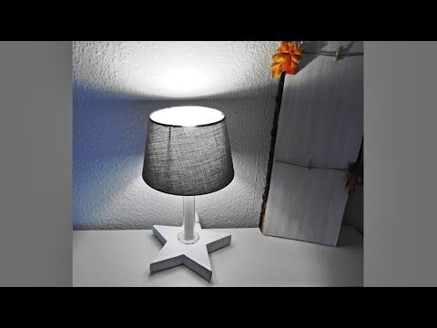 diy stern lampe stehlampe selber bauen deutsch youtube. Black Bedroom Furniture Sets. Home Design Ideas