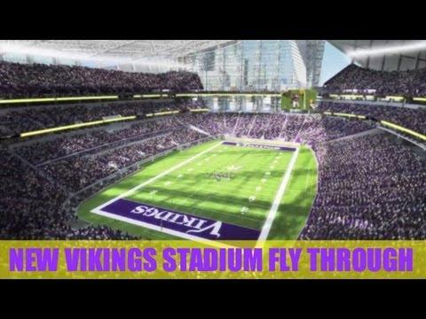 New Minnesota Vikings Stadium 2016 Minecraft Football S