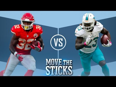 Ware or Ajayi: Who Would You Rather Have? | Move the Sticks | NFL