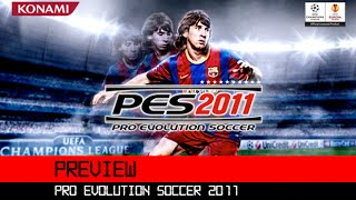 Pro Evolution Soccer 2011 3DS HD Preview
