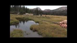 Fly Fishing Creeks & Backpacking in the High Uinta Mountains
