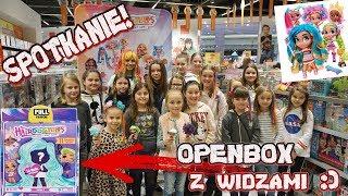 VLOG - SPOTKANIE - OPENBOX Z WIDZAMI - laleczki Hairdorables
