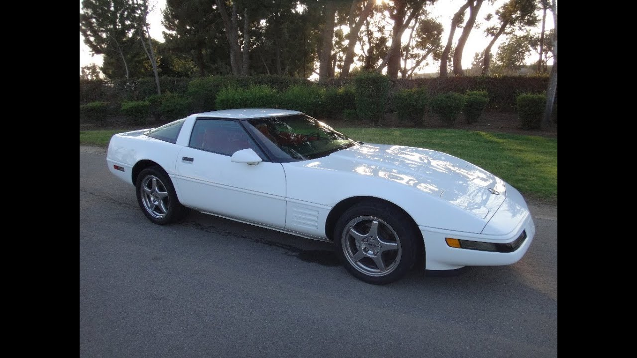 Corvette 1994 chevy corvette : SOLD 1994 Chevrolet Corvette Coupe Arctic White for sale by ...