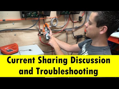 Current Sharing Discussion For Solar Batteries